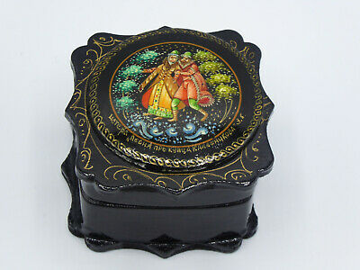 Small Wooden Trinket/ Ring  Box   • 4.99£