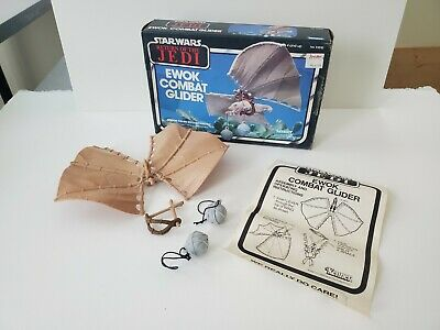 $ CDN125.47 • Buy Vintage Star Wars Ewok Combat Glider With Box COMPLETE Instructions