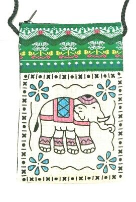 £5.45 • Buy Mobile Phone Pouch/holder With Cute Elephant Design And Neck Strap