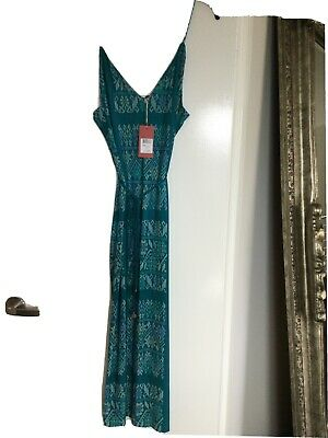 AU85 • Buy Tigerlily Mitla Dress Teal Size 14 New With Tags