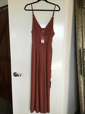 AU80 • Buy Tigerlily Banda Jumpsuit Size 14 New With Tags Paid $220