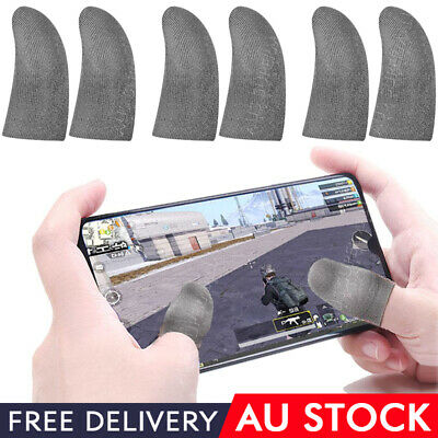 AU4.98 • Buy Non Slip Finger Sleeve For Mobile Touch Screen Game Controller Sweatproof Glove