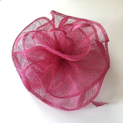 AU29.95 • Buy Melbourne Cup Hot Pink Fascinator Races Large BRAND NEW WITH TAGS Never Worn