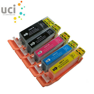 £4.85 • Buy 5 Ink Cartridges For Canon MP540 MP550 MP560 IP3600 IP4600 IP4700 MP630 NON-OEM