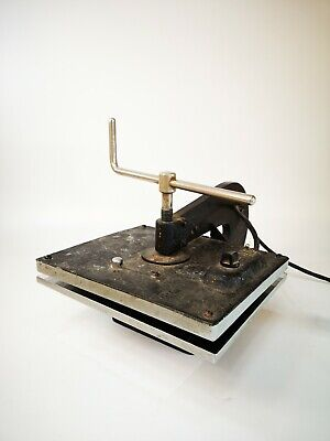 Antique Bookbinding Book Press With Heater • 249.99£