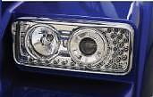 $ CDN375.08 • Buy Kenworth W900 T800 Projector Headlight W/ Led Turn Signal Rs K256-880-4 #40571
