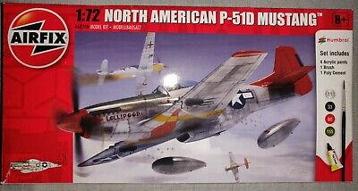 Airfix A01004 North American P-51D Mustang Plastic Scale Model Kit 1:72 • 2.20£