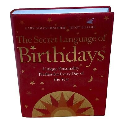 £39.99 • Buy The Secret Language Of Birthdays: In Good Condition See Pictures