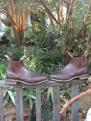 AU186.50 • Buy Great Pair Of Iconic Mens Rm Williams Leather Boots Comfort Craftsman 11