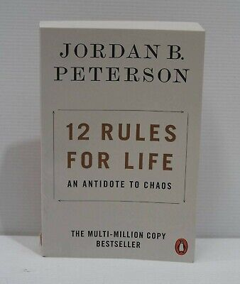 AU11.99 • Buy 12 Rules For Life By Jordan B Peterson