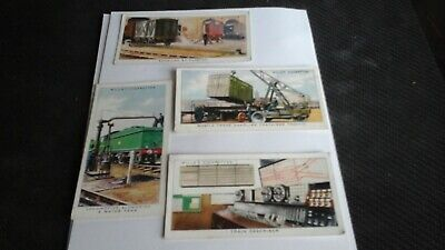 £2.25 • Buy Wills Cigarette Cards Railway Equipment. (Lot Of 4 Cards )No's :7,37,43&46