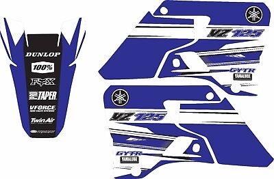 $38.99 • Buy Graphics For 1996-2001 Yamaha YZ125 YZ 125 Shrouds Decal Stickers
