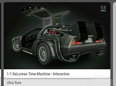 $399.95 • Buy VEVE NFT DeLorean ULTRA RARE #5038/12,500 Back To The Future⚡SOLD OUT⚡