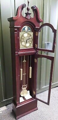 £40 • Buy Wooden Grand Father Clock Made By Wood And Son Wind Up Clock