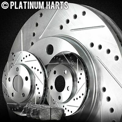 $118.11 • Buy For 2005-2012 Acura RL Front HartBrakes Brake Rotors+Ceramic Pads