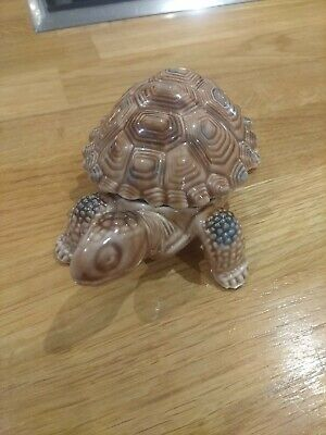 Vintage Wade Porcelain Tortoise Trinket Lidded Pot 4 Inches Perfect Condition • 4.50£