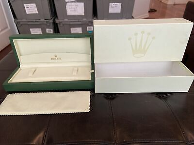 $ CDN576.25 • Buy GENUINE ROLEX CELLINI Watch Box Case 45.00.71, 2000's-Current, Complete Set