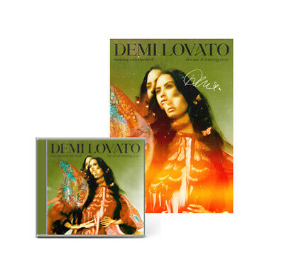 £34.99 • Buy Demi Lovato SIGNED Poster 1 + Cd - Dancing With The Devil (Guaranteed Stock)