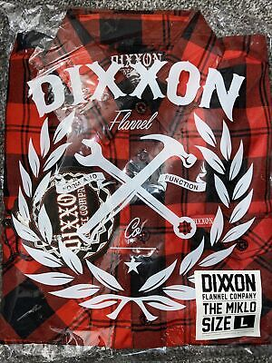 """$94.99 • Buy DIXXON FLANNEL  The Miklo"""" Size L Large SOLD OUT! NIB Blood In Blood Out"""