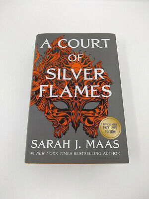 $79.99 • Buy A Court Of Silver Flames By Sarah J. Maas (Hardcover) - Signed B&N Exclusive