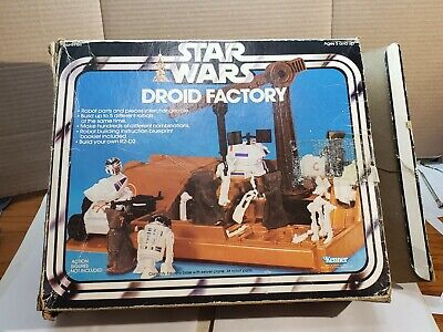 $ CDN40.17 • Buy Droid Factory Vintage Box Only Vintage Star Wars Good Colors Complete