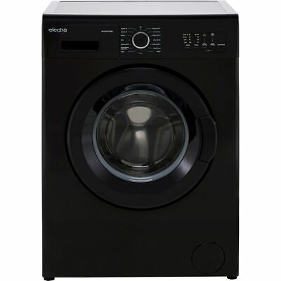 £219 • Buy Electra W1449CF2BE D Rated 7Kg 1400 RPM Washing Machine Black New