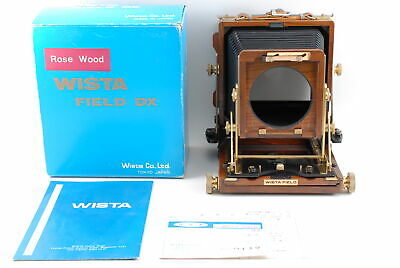 £1012.42 • Buy [Almost Unused] Wista Field 45DX 4x5 Rose Wood Large Format Camera From JAPAN
