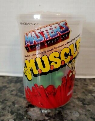 $34.99 • Buy Super7 MOTU Masters Of The Universe MUSCLE Trash Can