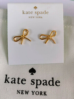 $ CDN9.40 • Buy Kate Spade  Gold Bow Earrings