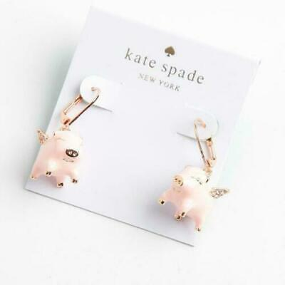 $ CDN11.28 • Buy Kate Spade Imagination Flying Pig Drop Earrings