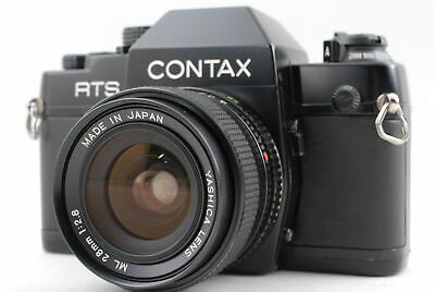 $ CDN438.61 • Buy [MINT] Contax RTS II Body + Yashica ML 28mm 2.8 From JAPAN