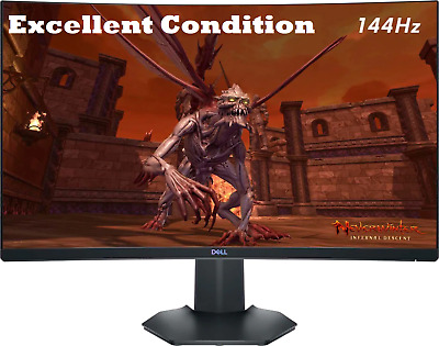 $199.99 • Buy Dell - S2721HGF 27  144Hz LED Curved FHD FreeSync And G-SYNC Gaming Monitor👍