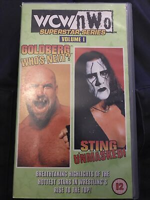 $ CDN8.64 • Buy WCW Nwo Superstar Series Goldberg Who's Next And Sting Unmasked  VHS WWF WWE