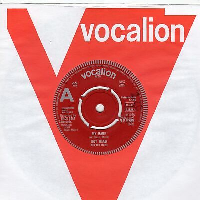 £70 • Buy Roy Head My Babe Vocalion DEMO VP9269 Soul Northern Motown