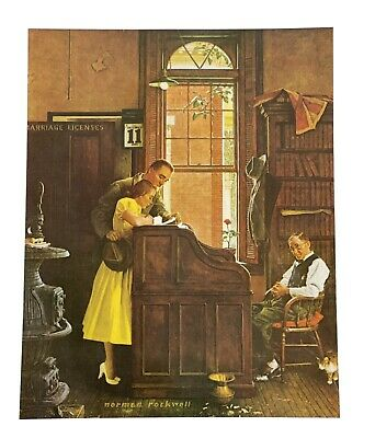 $ CDN18.82 • Buy Norman Rockwell Loves Old Sweet Song June 11 1955 RePrint On Canvas