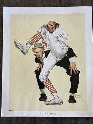 $ CDN18.82 • Buy Norman Rockwell Low End Inside July 8, 1939 Baseball    RARE RePrint On Canvas