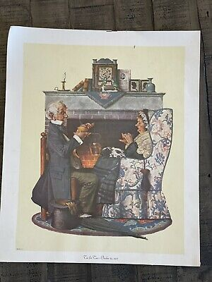 $ CDN18.82 • Buy Norman Rockwell Tea For Two October22,1927 Couple    RARE RePrint On Canvas