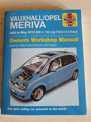 Vauxhall/Opel Meriva Service And Repair Haynes Manual 03-10… • 8.95£