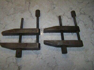 $39.95 • Buy Machinist Parallel Clamps Pair   Brown & Sharpe   754-F- 3 1/2  .  Nice
