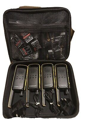 £119.99 • Buy Motorola TALKABOUT T82 Extreme Quad Two-Way Radios X 4 - With Extras