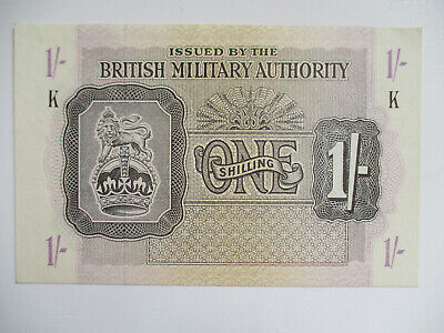 £35 • Buy 1 Shilling British Military Authority WWII 1943 (P.M2 B602a) EF+