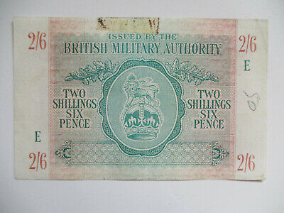 £22 • Buy 2/6 British Military Authority WWII 1943 (P.M3 B603a) VF