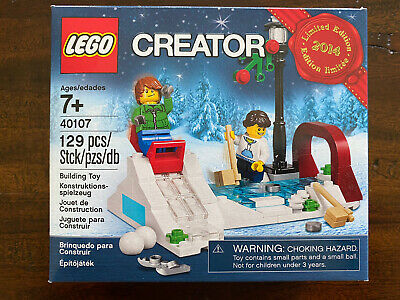 Lego - Creator  (40107) 2014 Limited Edition - Winter Skating Scene • 18.20£