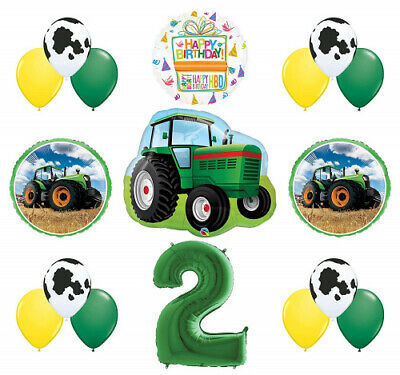 AU63.44 • Buy Mayflower Products 2nd Birthday Farm Tractor Balloon Bouquet Decorations And
