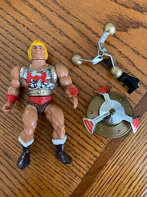 $65.99 • Buy Vintage Masters Of The Universe FLYING FISTS HE-MAN Figure W/ Accessories MOTU