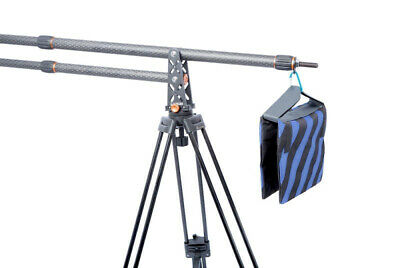 E-image EC-500KF Carbon Fibre Mini Jib Arm + EI-717AT Tripod • 90£