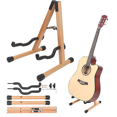 $ CDN37.89 • Buy Guitar Stand Holder Folding Floor For Electric Folk Classical Guitar Bass Parts