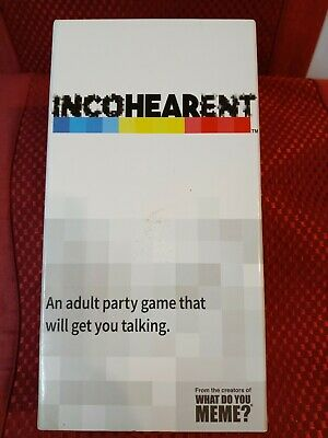 AU13.11 • Buy Incoherent - Adult Party Game - What Do You Meme