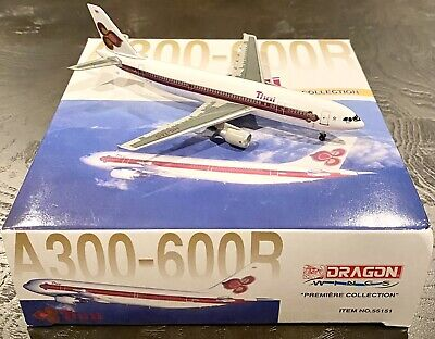 $25 • Buy Dragon Wings 1:400 Thai A300-600 Reg: HS-TAS. Old Livery. Brand New & Sealed.
