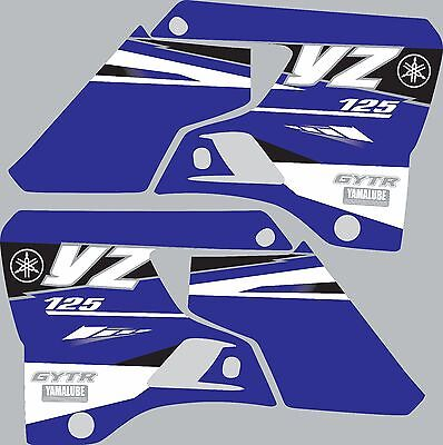 $29 • Buy Graphics For 1996-2001 Yamaha YZ125 YZ 125 Shrouds Decal Stickers